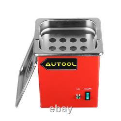 1000ML Ultrasonic Cleaner Petrol injector Spark Plug Coke Clean CNC602A CT100