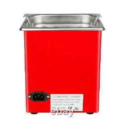 1000ML Ultrasonic Cleaner Petrol injector Spark Plug Coke Clean Launch CNC602A