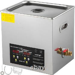 10L 400W Stainless Steel Industry Ultrasonic Cleaner Heated Heater withTimer