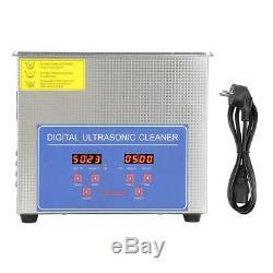 10L Digital Heated Timer Ultrasonic Cleaner Ultra Sonic Jewellery Gun Cleaning