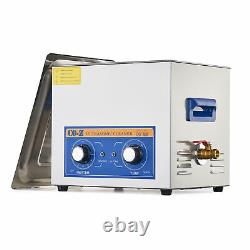 10L Ultrasonic Cleaner Stainless Steel Industry Heated Heater Sonic Cleaner