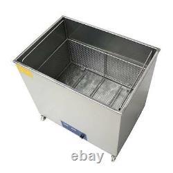 130L Ultrasonic cleaner free basket 40KHZ or 28KHZ optional for Industrial use t