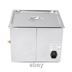 15L Digital Ultrasonic Cleaner Timer Heater Cleaning Stainless Tank
