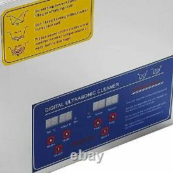 15L Professional Digital Ultrasonic Cleaner Machine Timer Heated US with basket