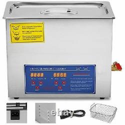 15L Professional Digital Ultrasonic Cleaner Machine WithTimer Heated Cleaning