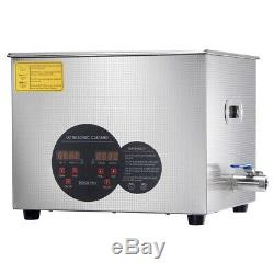 15L Stainless Steel Industry Heated Ultrasonic Digital Cleaner withTimer Dental