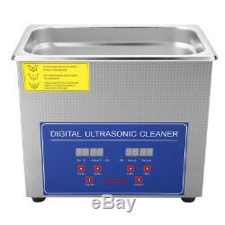 2-30L Digital Industrial Heated Ultrasonic Cleaner Clean Machine Stainless Steel