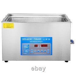 22L Digital Ultrasonic Cleaner with Heater 28/40KHz 0-80 0-30min Heating
