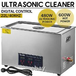 22L Ultrasonic Cleaner Machine Stainless Steel Industry Heated Heater withTimer