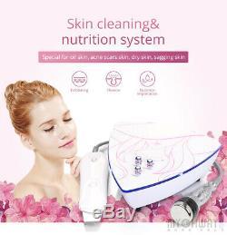 2In1 Ultrasonic Scrubber Skin Spatula Facial Cleaner Peeling ExfoliatingMassage