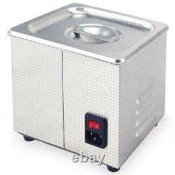 2L Digital Ultrasonic Cleaner Jewelry Ultra Sonic Bath Degas Parts Cleaning