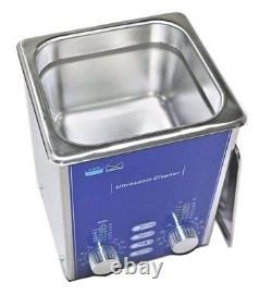 2L Useful Ultrasonic Cleaner Degas Sweep Cleaning Parts Jewelry Glasses PCB