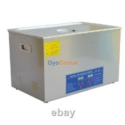 30L Large Capacity Stainless Steel Ultrasonic Cleaner Cleaning Machine JPS-100A