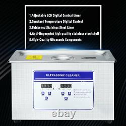 30L Ultrasonic Cleaner Professional Equipment Industrial Industry withTimer Heater