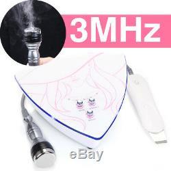 3HMz Ultrasonic Ultrasound Face Skin Rejuvenation Scrubber Cleaner Peel Machine