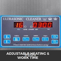 3L Digital Ultrasonic Cleaner with Heater 28/40KHz Jewelry Eyeglasses