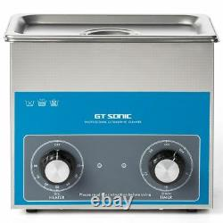 3L Stainless Ultrasonic Cleaner Ultra Sonic Bath Cleaning Tank Timer Heater 220V