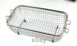3L Ultrasonic Cleaner Bath Degas Sweep 160W DR-DS30 Dental Lab Stainless Steel