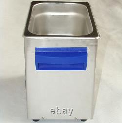 3L Ultrasonic Cleaner Sweep Degas Pulse Power Adjustable 160W For PCB Lab