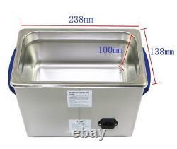 3L Ultrasonic Cleaner Tank Degas Sweep 40KHz DR-DS30 Dental Lab Equipment