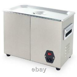 4.5L Digital Ultrasonic Cleaner Ultra Sonic Bath Heated Parts Jewelry Cleaning