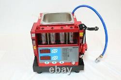 4 jars Cylinder Automotive Fuel Injector Tester Ultrasonic Cleaner for Petrol