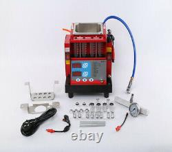 4 jars Cylinders automotive fuel Injector tester and ultrasonic cleaner MST-30