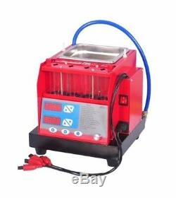 4 jars Cylinders ultrasonic fuel Injector cleaner & tester MST-30 cleaning machi