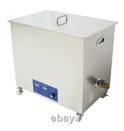 58L Industrial Ultrasonic cleaner 40KHZ or 28KHZ Ultrasonic power adjustable