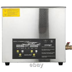 6L 400w Industry Ultrasonic Cleaners Cleaning Equipment withTimers Heaters
