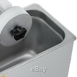 6L Ultrasonic Vinyl Record Cleaner Cleaning Machine Complete withDrying Rack