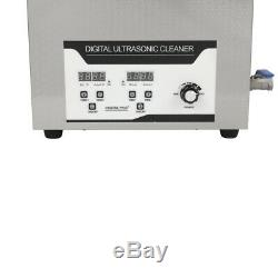 6L Ultrasonic Vinyl Record Cleaner Cleaning Washing Machine with Drying Rack