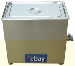 77L Ultrasonic cleaner free basket 40KHZ or 28KHZ optional for Industrial use