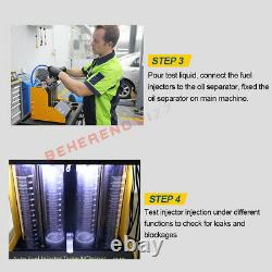 AUTOOL CT-150 Petrol Ultrasonic Fuel Injector Tester Cleaner Cleaning Machine