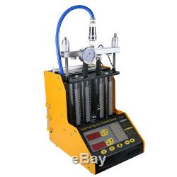 AUTOOL CT150 4-Cylinder Ultrasonic Fuel Injector Tester Cleaner Diagnostic ToolS