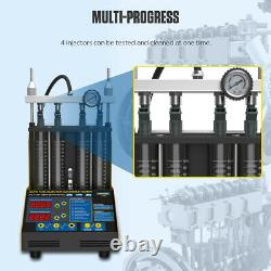 AUTOOL CT150 Ultrasonic Fuel Injector Cleaner&Tester 4-Cylinder for Car Motor