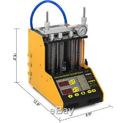 AUTOOL CT150 Ultrasonic Fuel Injector Cleaner&Tester for Car Motor 4-Cylinder