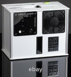 Audio Desk Vinyl Cleaner PRO X Ultrasonic LP Cleaning machine White $4598 List