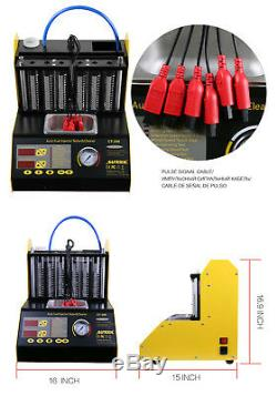 Autool CT200 Ultrasonic Automotive Fuel Injector Cleaner & Tester For Petrol Car