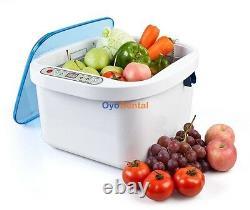 Best 12.8L Ultrasonic Food Washer Home Use Vegetable Fruit Sterilizer Cleaner CE