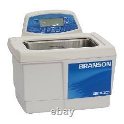Branson CPX2800H 0.75G Ultrasonic Cleaner with Digital Timer Heater Degas Temp Mon