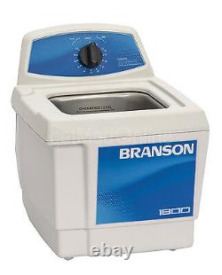 Branson M1800 0.5 Gal. Benchtop Ultrasonic Cleaner withMech. Timer, CPX-952-116R