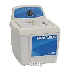 Branson M1800 0.5 Gallon Ultrasonic Cleaner with Mechanical Timer CPX-952-116R NEW