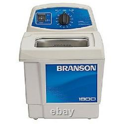 Branson M1800H Ultrasonic Cleaner with Mechanical Timer & Heater CPX-952-117R 0.5G
