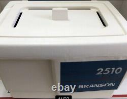 Bransonic 5510 Powerful 3 Cells Ultrasonic Cleaner Water Bath Tested Working. 5G