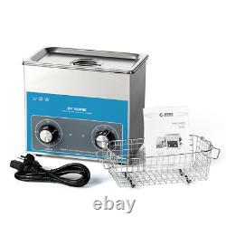 CE Stainless Steel 3 L Liter Industry Heated Ultrasonic Cleaner Heater /Timer