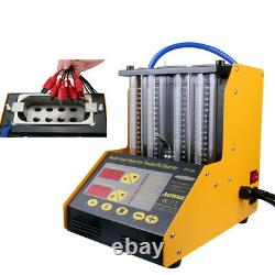 CT150 4-Cylinder Car Motorcycle Ultrasonic Fuel Injector Cleaner Nozzle Tester