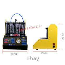 CT200 6 Cylinder Ultrasonic Fuel Injector Cleaner Tester Machine Car Motorcycle