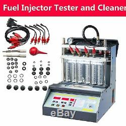Car Motorcycle Injector Ultrasonic Cleaner Injection Tester (1 Year Warranty)