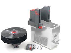 CleanerVinyl Pro Expert Kit Ultrasonic Vinyl Record Cleaner w Drying Fan